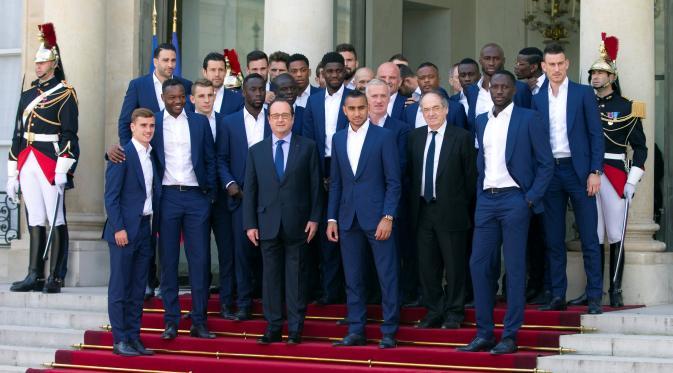 Meskipun Tidak Juara Prancis di Jamu ke Istana Presiden